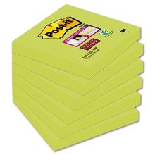 Bločky Post-it Super Sticky, 76 x 76 mm, chřestové