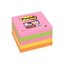 Bločky Post-it Super Sticky 76 x 76 mm, barevné